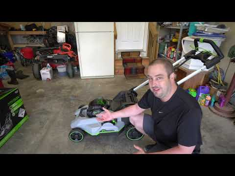The Home Depot S Ego Power Mower Review Youtube