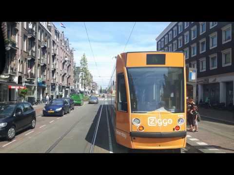 Spoedrit met de 13-124 het centrum van Amsterdam in