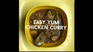 Easy Yum Chicken Curry