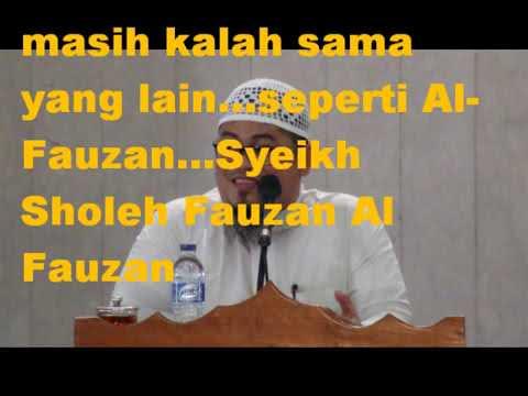 ust abdul aziz ridwan tentang   syeikh alalbani
