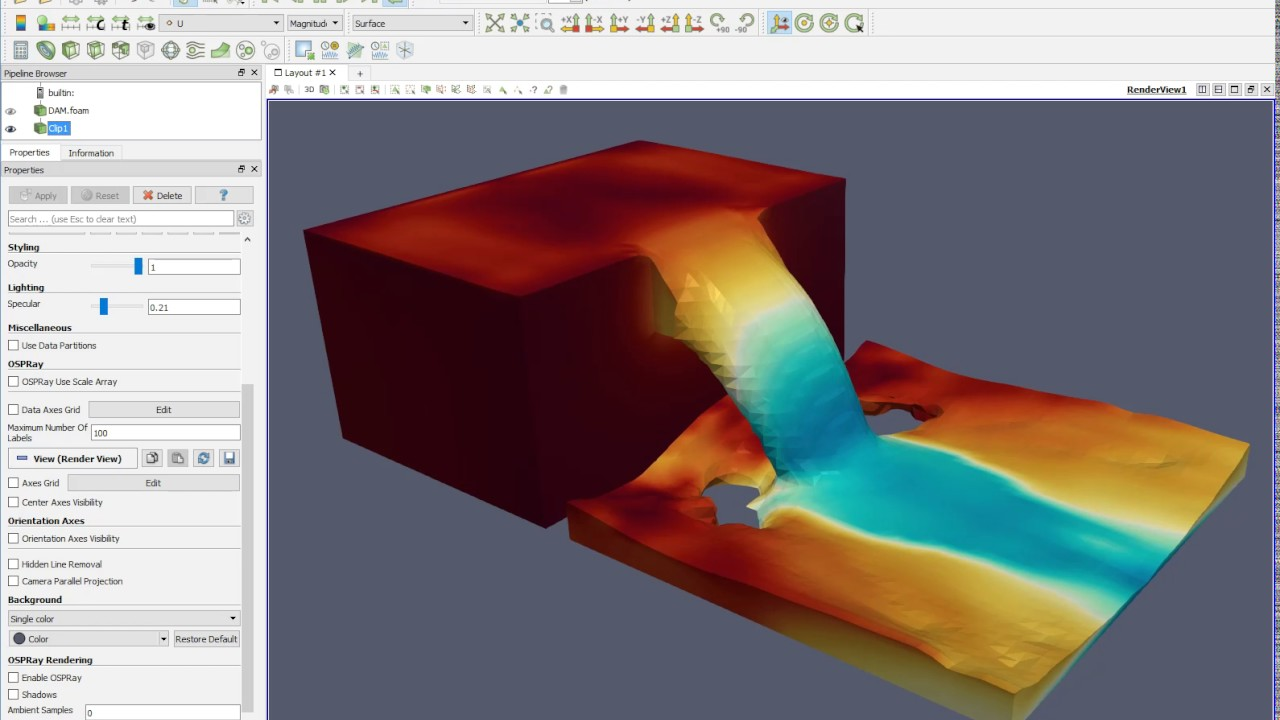 Multiphase Fluid Flow Analysis using OpenFOAM