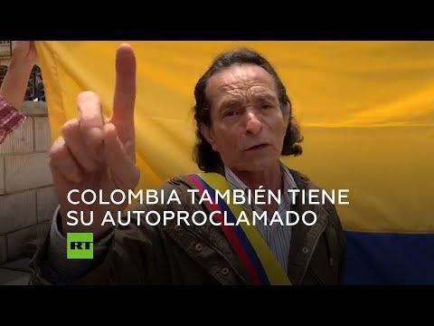 Otro autoproclamado: Colombia tiene nuevo 'presidente'