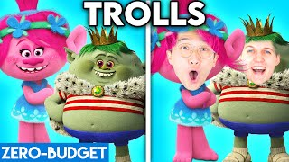 TROLLS WITH ZERO BUDGET! (Trolls MOVIE PARODY By LANKYBOX!)