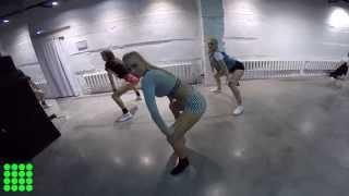 "Dancehall choreo by Milli -  Konshens ""Gal a Bubble"""