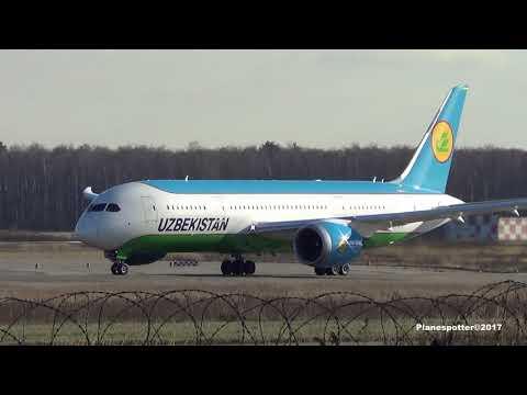 Boeing 787-8 Dreamliner UK-78701 Uzbekistan Airways