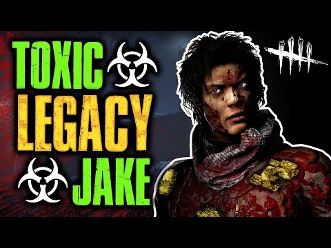 TOXIC LEGACY JAKE [#126] Dead by Daylight with HybridPanda