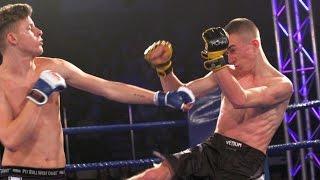 Piotr Kujawa (MMA Przasnysz) - Kuba Kęsicki (Gladiator Ostrołęka)