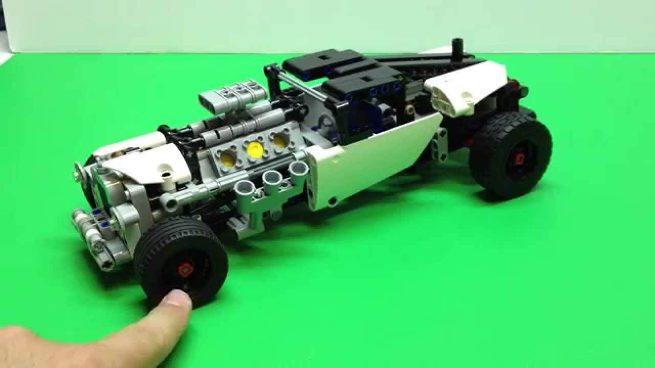 lego technic hot rod modification set 42022 youtube. Black Bedroom Furniture Sets. Home Design Ideas