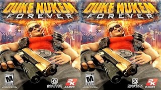 Duke Nukem Forever 3D VR box TV video Side by Side SBS # 1