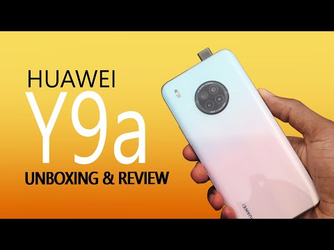 HUAWEI Y9a Unboxing and Detailed Review English