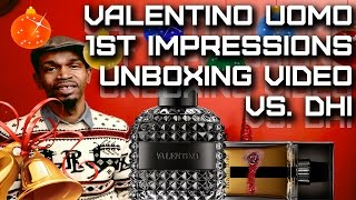 Uomo Intense By Valentino Mens Fragrance First Impressions / Unboxing   The Dior Homme Intense Dupe