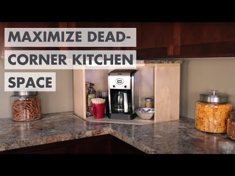 Dead Corner Kitchen Storage Lift - Say goodbye to that wasted space!