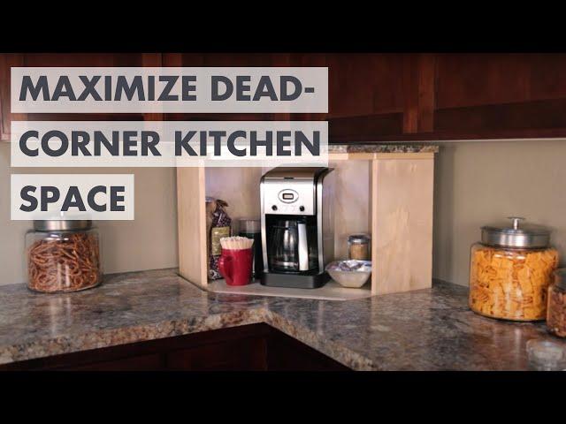 Dead Corner Kitchen Storage Lift - Say goodbye to that ...