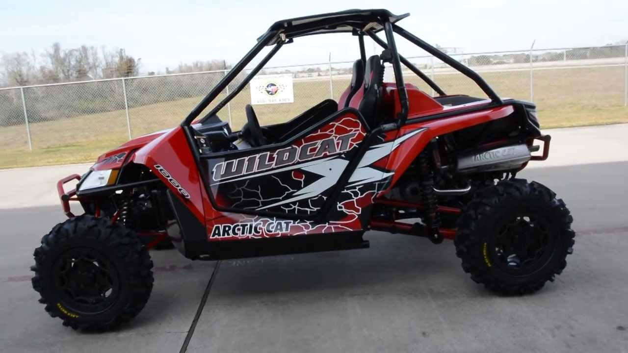 2014 Arctic Cat Wildcat X Limited with Elka Stage 5 Shocks Vibrant ...