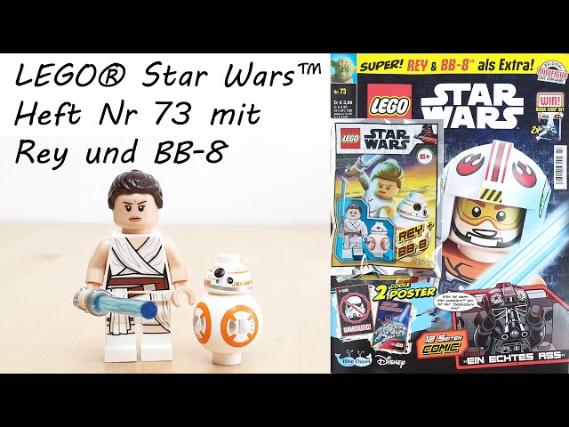LEGO® Star Wars™ Heft Nr. 73 mit Rey & BB-8 • Unboxing / Review