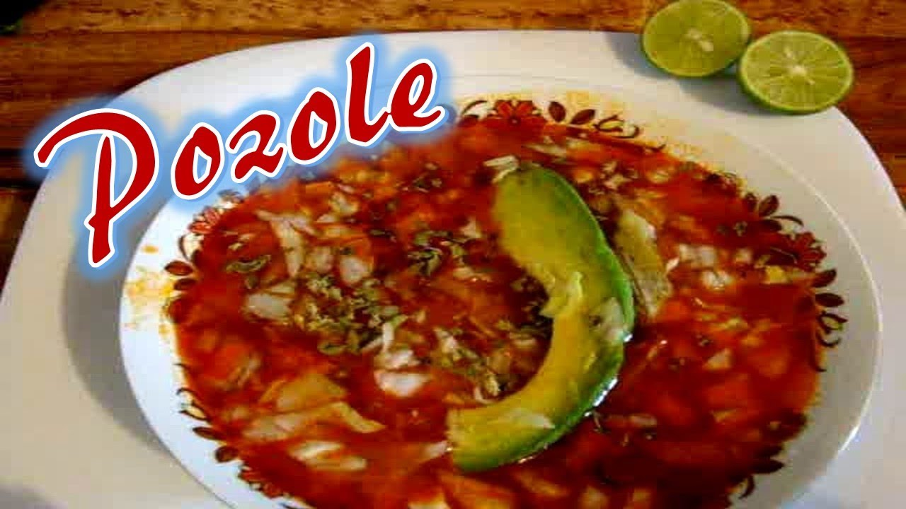 how to make pozole rojo de pollo
