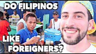 HOW FILIPINOS INTERACT WITH FOREIGNERS YOU WONT BELIEVE