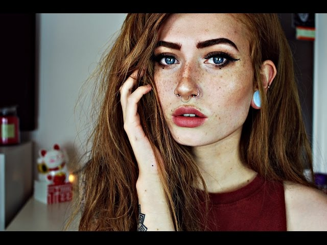 My Every day full face makeup tutorial (no foundation) //