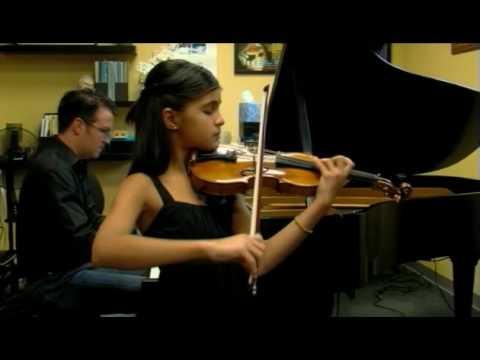 JAMUNA  BUCHANAN plays BRAHMS Sonatensatz