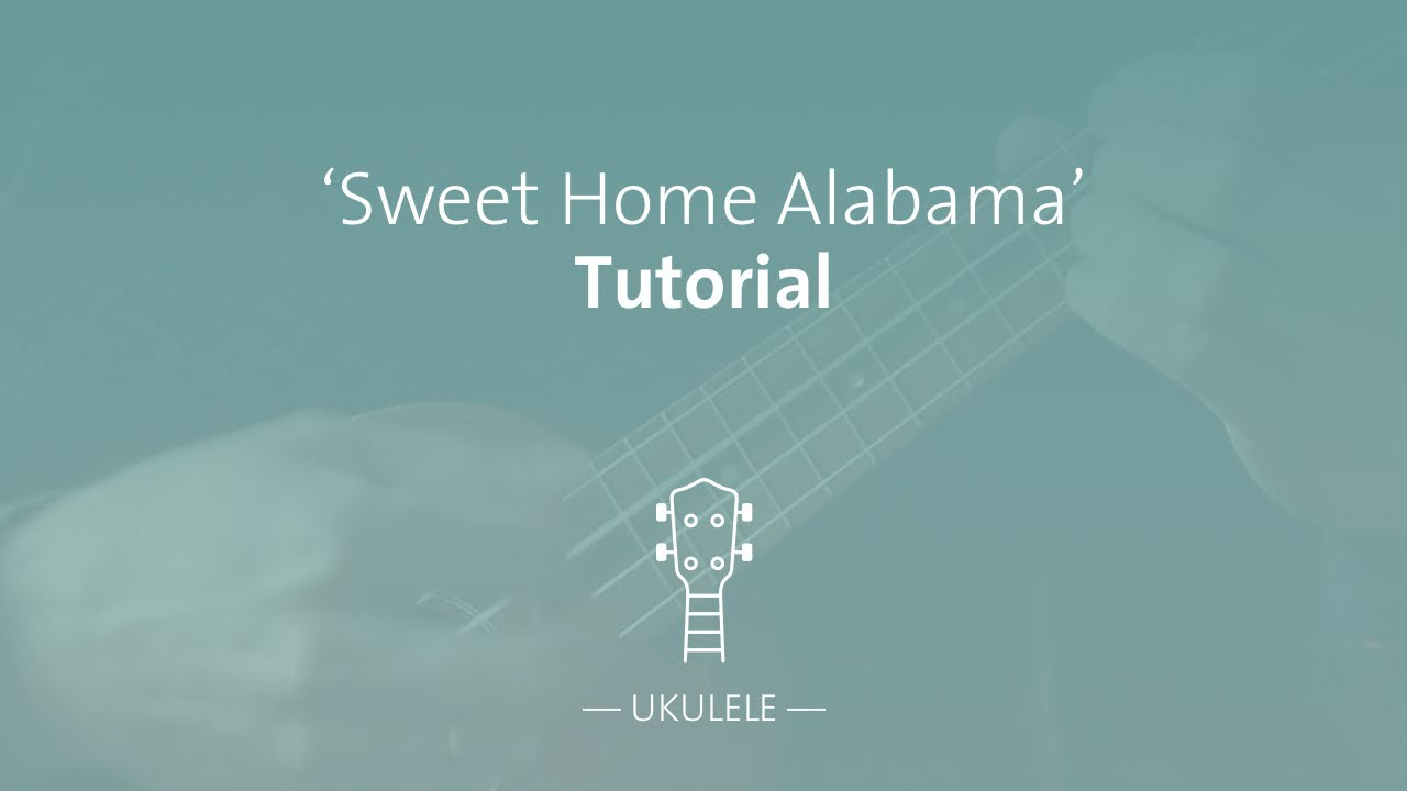 D c g now muscle shoals has got the … Sweet Home Alabama Chords And Sheet Music For Your Ukulele