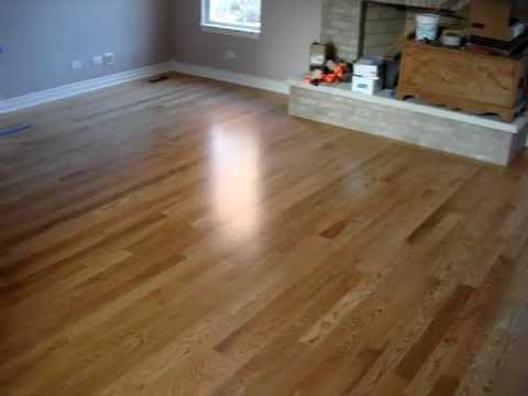 Excel floors natural 3 in red oak flooring crystal lake for Natural red oak floors