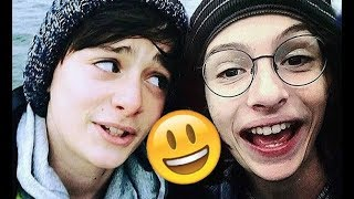 Stranger Things Cast 😊😊😊 - Finn, Millie, Noah and Gaten CUTE AND FUNNY MOMENTS 2018 #11