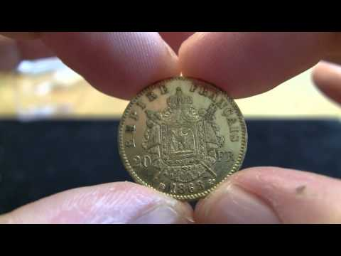 Gold Unboxing - 19th Century Gold 20 Francs