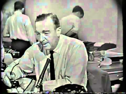 CBS Newsflash From Nov. 22nd 1963 Re: The JFK Assassination