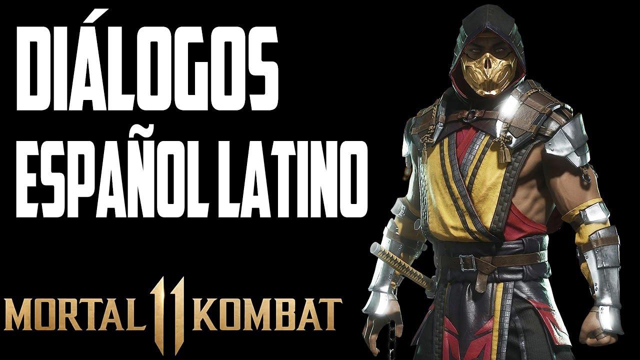 Mortal Kombat 11 | Diálogos en Español Latino | Scorpion | Versión Beta Online |