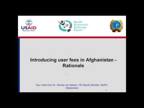 Implementation of user fees in secondary & tertiary level health facilities