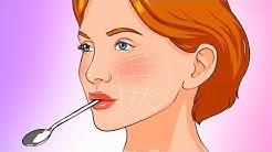 Halte einen Löffel für 10 Sekunden in deinem Mund, sieh, was dann passiert
