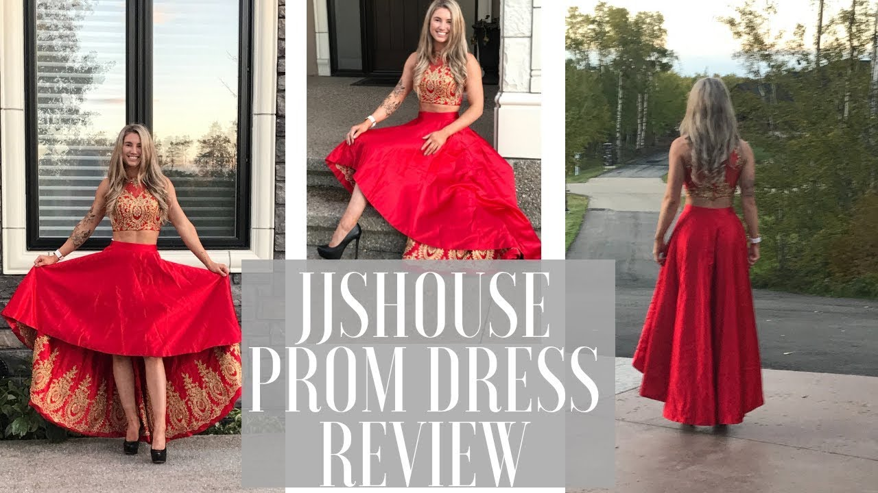 b3850637f693a JJsHouse PROM DRESS REVIEW & TRY ON!!!! | Karen O'Connell | KO Fitness