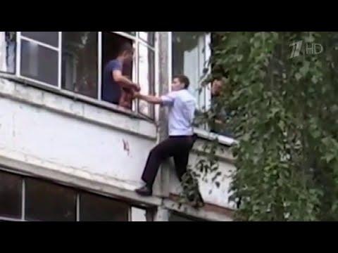 В Саранске полицейские спасли ребенка, которого обезумевший отец собирался выкинуть из окна.
