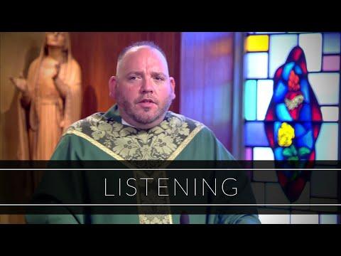 Listening | Homily: Father Corey Bassett-Tirrell