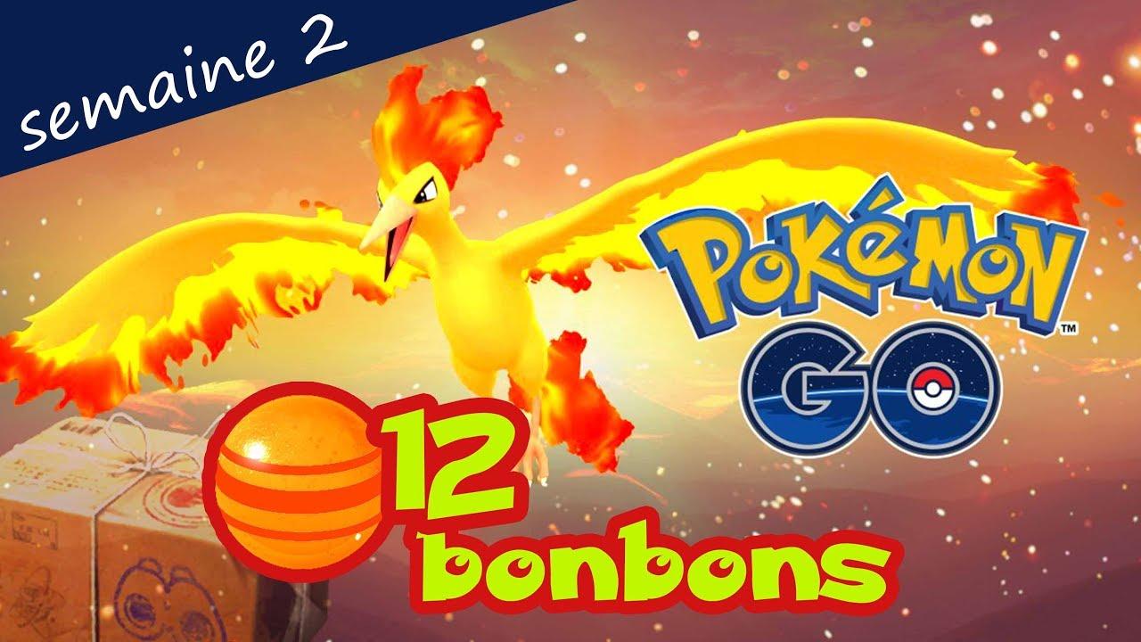 tudes de terrain semaine 2 pokemon go sulfura bonbon x12 youtube. Black Bedroom Furniture Sets. Home Design Ideas