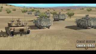 Combat Mission Shock Force 2 RELEASED ! - Crossing the Border - US Invasion of Syria Begins Part 1