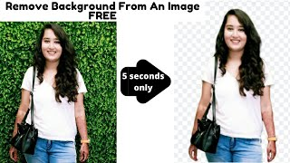 Lecture 6 How To Remove Image Background Without Photoshop [within 20 seconds] Free, Quick and Easy