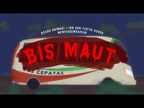 BIS MAUT - Kartun horor - feat IAN DAN CERITA HOROR - funny cartoon