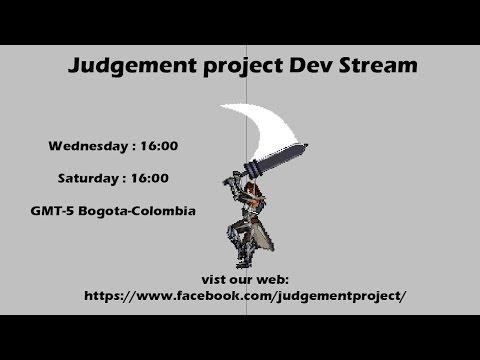 Dev stream 5 Judgement project.