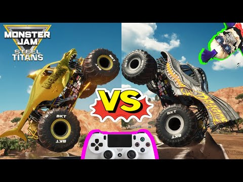 Monster Jam Video Game Steel Titans Dlc Monster Trucks Backflip Championship Youtube