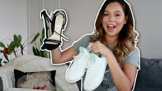 VEGAN SHOE HAUL / PHARRELL WILLIAMS X ADIDAS