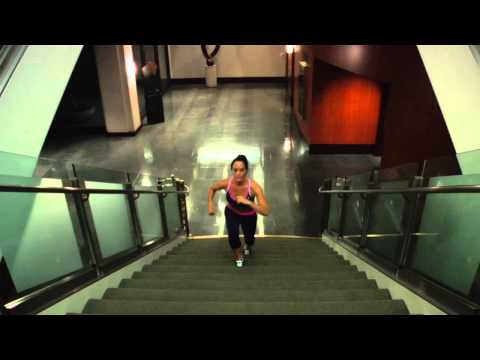 Climbing Stairs for a Flat Stomach : Getting in Great Shape