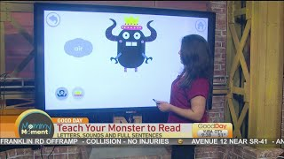 Mommy Moment: Teach Your Monster To Read