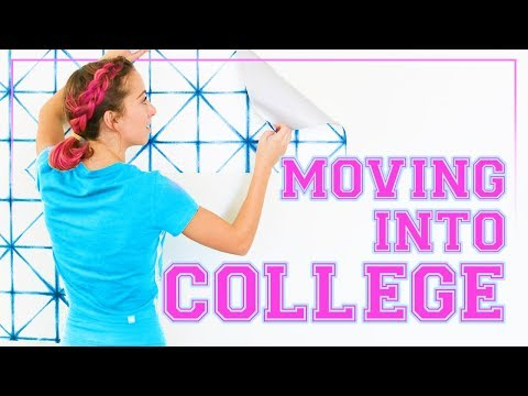 MOViNG Into Our DORM ROOM | College Move-In Day