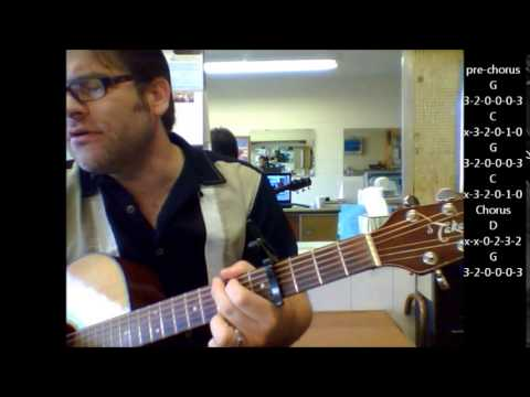 """How to play """"Wonderful World"""" by Sam Cooke on acoustic guitar"""
