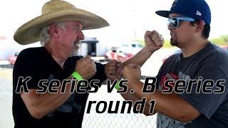 B Series vs K Series Civic EG Budget K vs 1992 Civic Rd 1