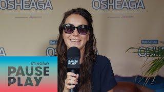 Amy Shark Interview | Osheaga 2018 | Stingray PausePlay