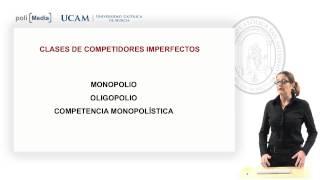 Fundamentos de Economía - Competencia perfecta/ Competencia Imperfecta - Mª Dolores Gil