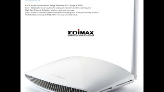 how to set up the edimax wifi range extender router