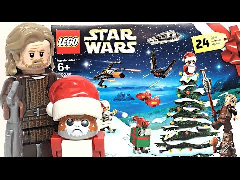 LEGO Star Wars 2019 Advent Calendar Review And Unboxing!